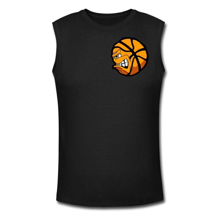 Maglietta sportiva con basket gnam | Spreadshirt | ID: 24997100
