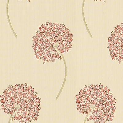 John Lewis Natalia Fabric, Red online at JohnLewis.com