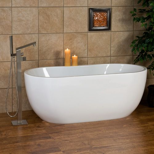 65 Boyce Freestanding Acrylic Tub 1249 95 With Of And Drain