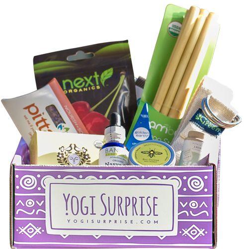 Yogi Surprise Monthly Subscription Box ... I want it!