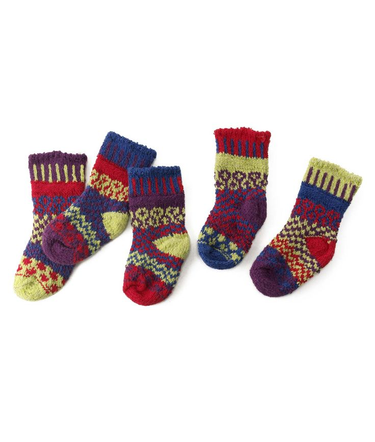 BABY DRAGONFLY MISMATCHED SOCK SET | Marianne Wakerlin Mismatch Sock Pair For Babies, Cozy, Warm, Comfy, Fun, Colorful, Cute | UncommonGoods