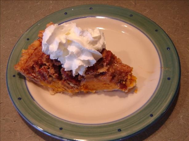 Sweet Potato-Pecan Pie from Food.com: #ultimatethanksgiving