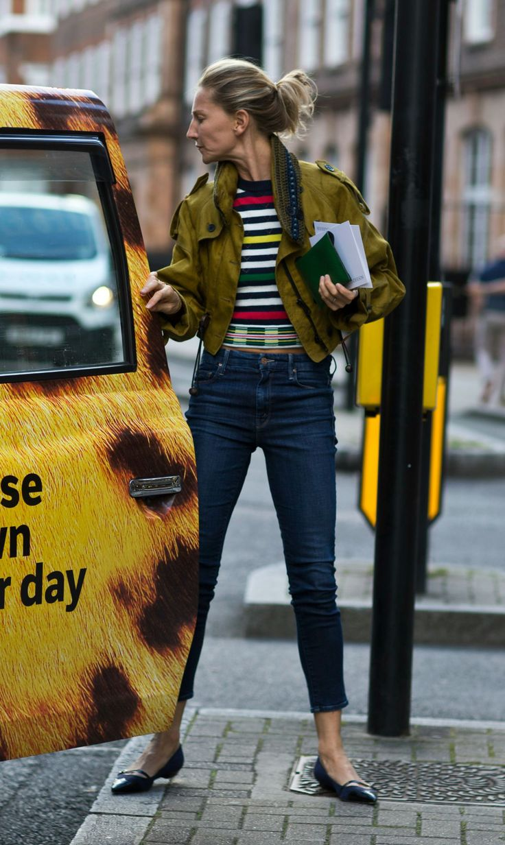 The Best London Fashion Week Street Style During Fall 2015 | @andwhatelse