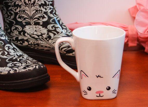 Katze Mug Kitty Becher Cat Lover Mug Crazy Cat Lady Mug