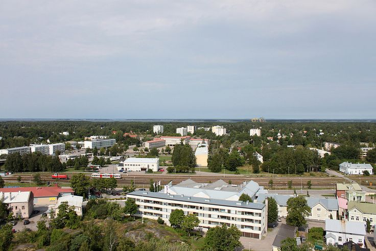 Näkymiä Hangon vesitornista #Hanko #Finland