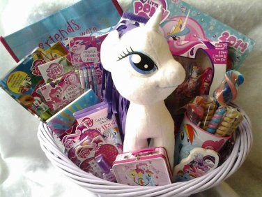 12 best easter baskets images on pinterest easter baskets my little pony gift basket google search negle Choice Image