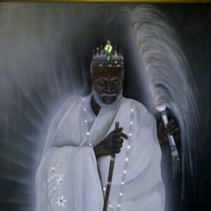 In the religion of the Yoruba people, Obàtálá is the creator of human bodies, which were supposedly brought to life by Olorun's breath. Obàtálá is also the owner of all ori or heads. Any orisha may lay claim to an individual, but until that individual is initiated into the priesthood of that orisha, Obàtálá still owns that head. This stems from the belief that the soul resides in the head.