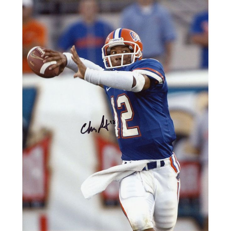 "Chris Leak Florida Gators Fanatics Authentic Autographed 8"" x 10"" Throw Photograph with Champs Inscription"
