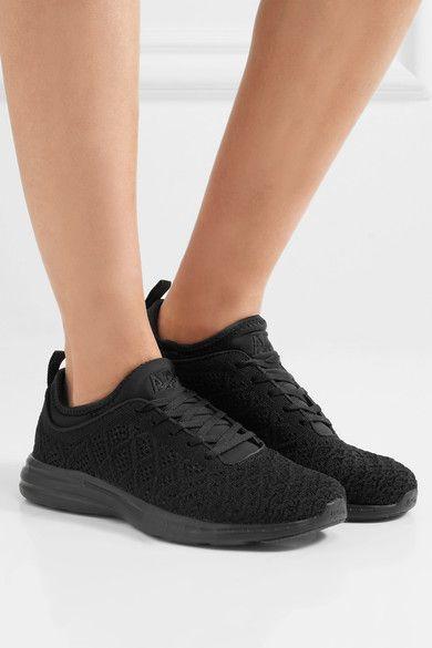 Athletic Propulsion Labs - Techloom Phantom 3d Mesh Sneakers - Black - US11