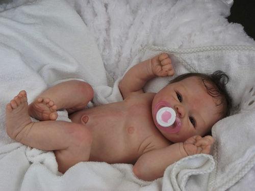 (Alexandra's Babies) REBORN BABY GIRL DOLL COCO MALU ELIZA MARX +TUMMY PLATE | eBay