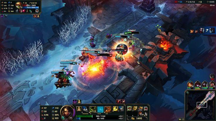 League of Legends - Aram 5v5   Nidalee Gameplay