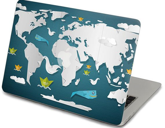 macbook pro decal front sticker map pro 13 front decal cover macbook retina 13 top decal sticker apple keyboard cover decal