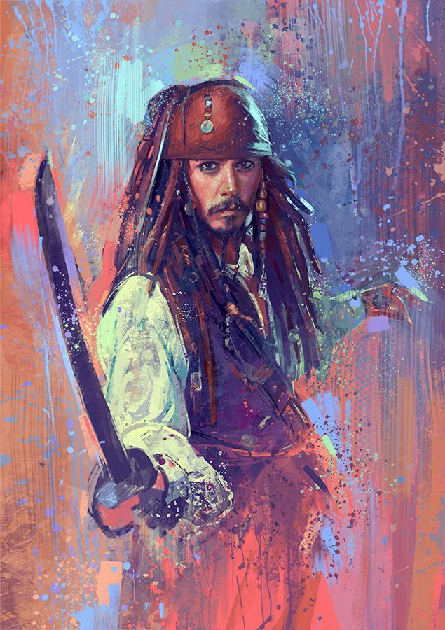 Captain Jack Sparrow by MartaNael.deviantart.com on @DeviantArt