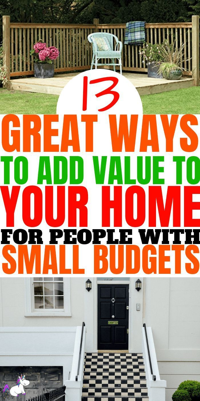 How To Add Value To Your Home With Images Diy Home Improvement