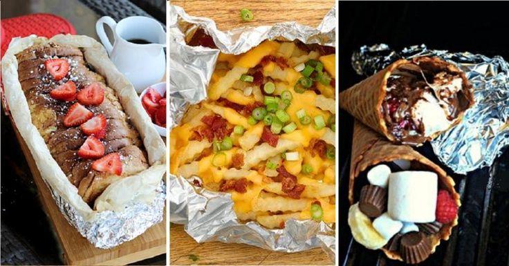 Le TOP 10 des recettes de Camping les plus populaires à cuisiner sur un feu de camp ! - Cuisine - Trucs et Bricolages
