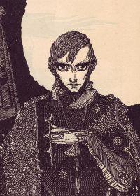 Henry Clarke Illust for E.A. Poe