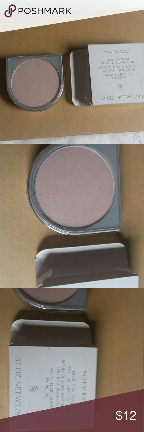 Brand new Mary Kay make never used Never swatched or used comes in box duel coverage foundation ivory Mary Kay Makeup Face Powder