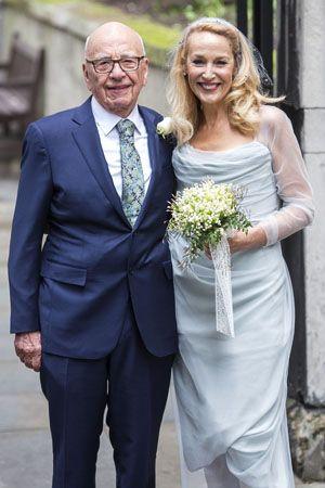 元祖スーパーモデルのジェリーホールが結婚