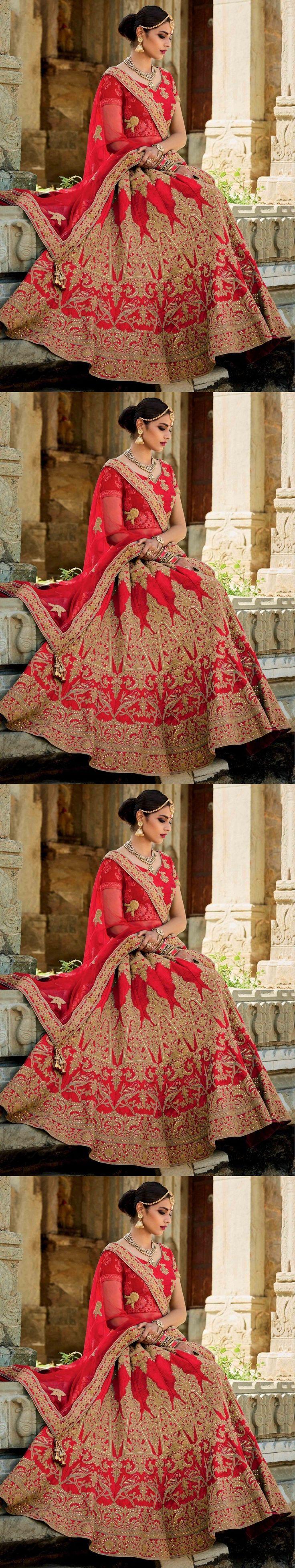Sari Saree 155250: Designer Lehenga Indian Pakistani Bridal Lehenga Choli Wedding Party Wear -> BUY IT NOW ONLY: $128 on eBay!