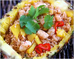 Pineapple Fried Rice | Pineapple Fried Rice Recipe | Easy Asian Recipes at RasaMalaysia.com