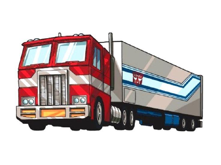 Optimus Prime Fire Truck