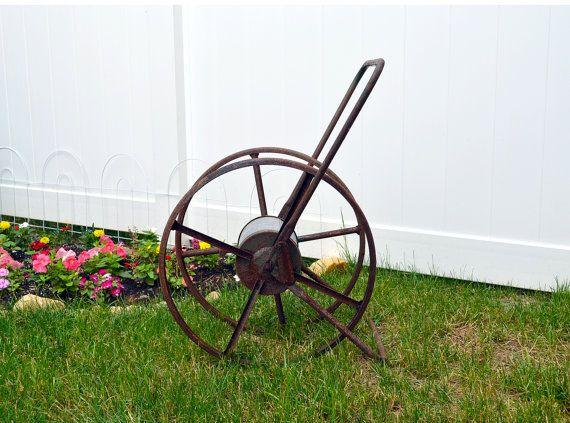 Best 25+ Rustic garden hose reels ideas on Pinterest ...