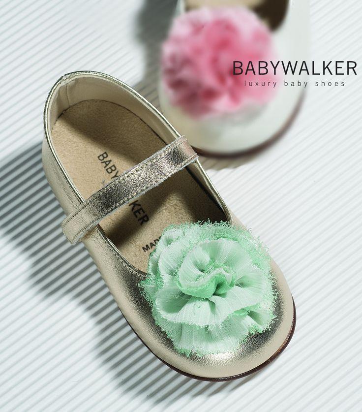 BABYWALKER balarina Vaptistis ss2017 #BABYWALKER #shoes #kidsshoes #vaptistika