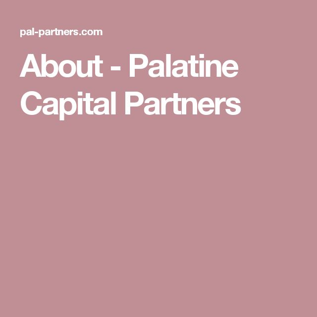 About - Palatine Capital Partners