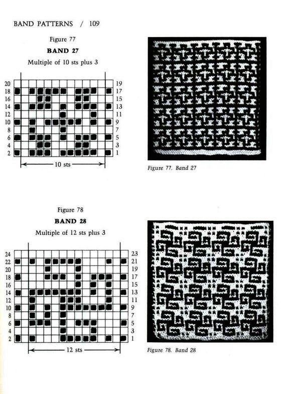 Mosaic Knitting Barbara G. Walker (Lenivii gakkard) Mosaic Knitting Barbara G. Walker (Lenivii gakkard) #114
