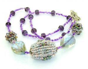 Handmade Beaded Necklace, Style 13, 54cm $37.95