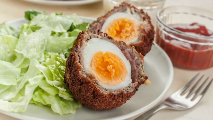 Homemade scotch eggs – Starts at 60