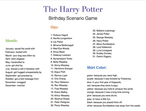Hugged unexpectedly by Arthur Weasley during my 1st year at hog warts