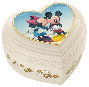 Mickey Mouse - Sweet Romance Keepsake Box - Lenox - Classics Lenox - World-Wide-Art.com - $34.95