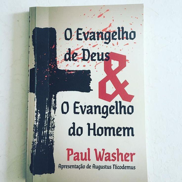 Preciso agradecer publicamente meu amigo @nascimentoadler pelo excelente presente que ele me deu. Um livro maravilhoso e recomendado a todos os cristãos que como o autor se envergonham de como o evangelho é apresentado em dias atuais.