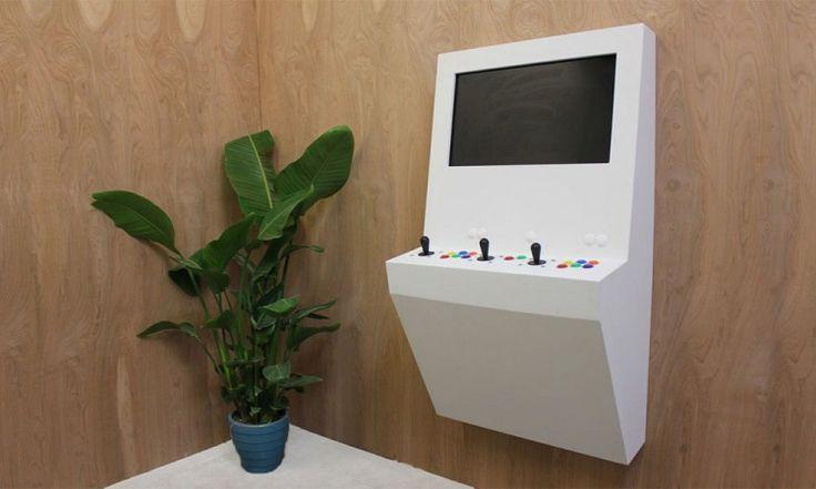 Polycade : La borne d'arcade design pour votre maison - #HighTech - Visit the website to see all photos http://www.arkko.fr/polycade-borne-arcade-design-minimaliste/