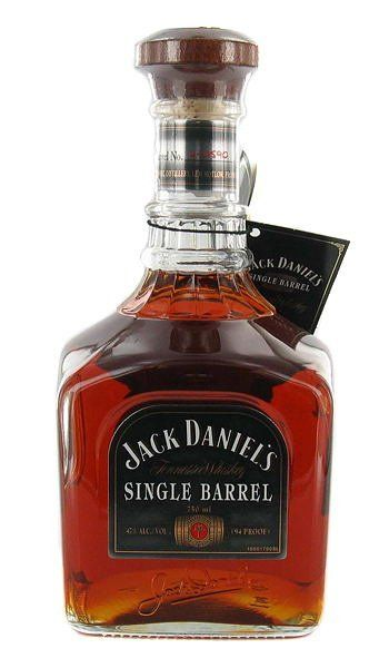 Jack Daniels Single Barrel Whiskey.