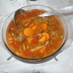 A Bela Família: Dieta da sopa USP INCOR
