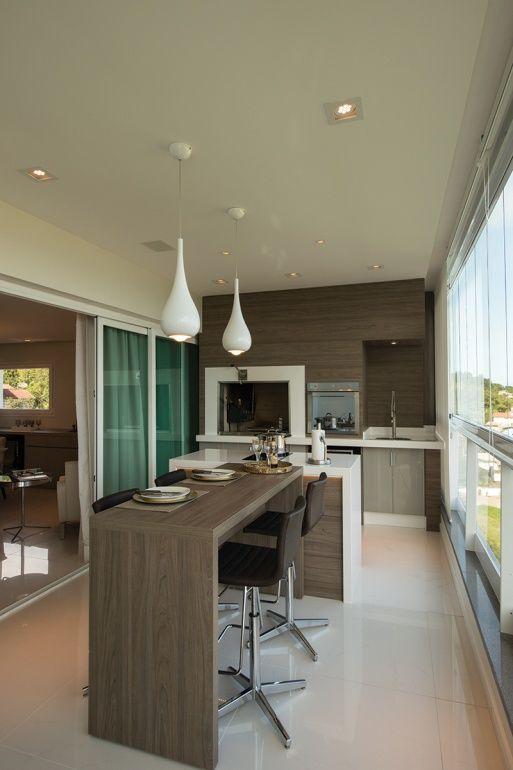 Morar em alto estilo - Revista Sua Casa #selsacada outro modelo de mesa com bancada