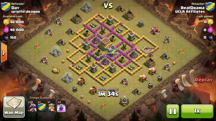 Attacker TH8: 10 Level 3 Dragon, 5 Level 6 Balloon, Level 5 Barbarian King, 3 Level 5 Rage Spell Defender TH8: Level 4 Barbarian King, Rank 9/20
