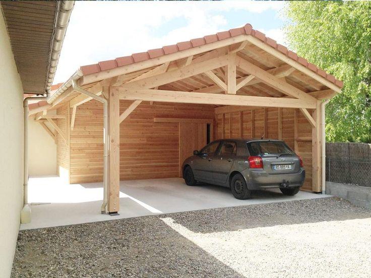 Votre constructeur de garages et appentis en bois en Rhône Alpes - Montage D Un Garage En Bois