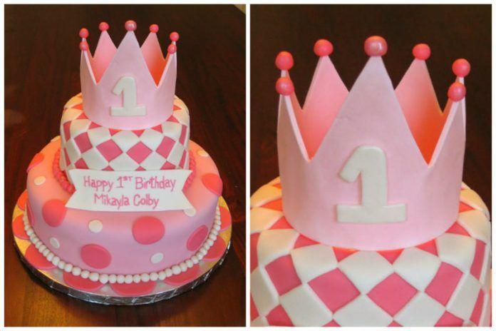 Kız Bebek Doğum Günü Pastaları İçin Önerileri - Bebek Fikirleri