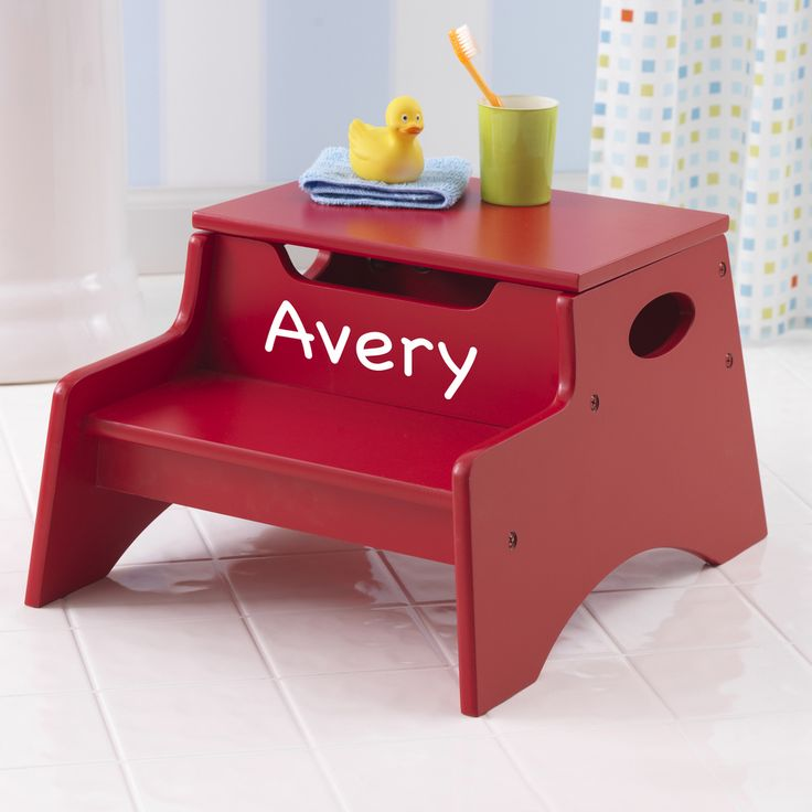Personalized Step u0027n Store Step Stool - Red & 120 best Every child needs a step stool images on Pinterest | Step ... islam-shia.org
