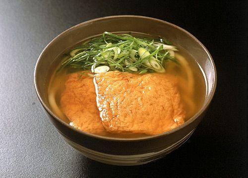 Kitsune udon - 道頓堀 今井