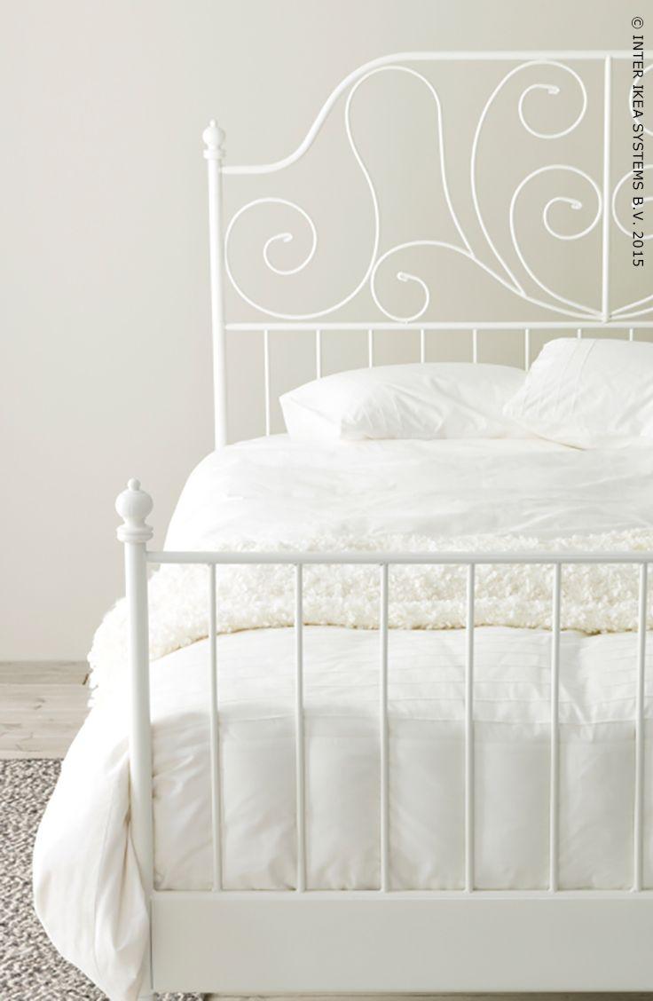Win stel jouw droomslaapkamer samen en wie weet realiseren we jouw bord in n van onze ikea - Wit bed capitonne ...