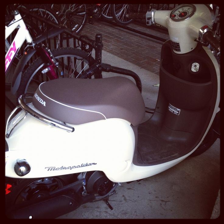A sweet Honda Met!!!