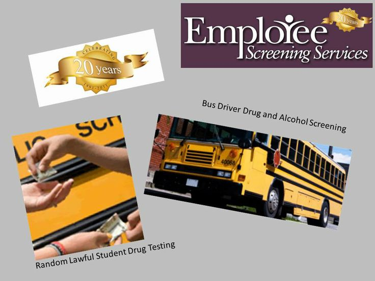 http://www.yourdrugtesting.com - Employee Screening Services provides bus driver drug and alcohol screening to school systems in Kansas City MO