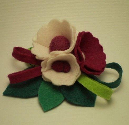 Bouquet in pannolenci