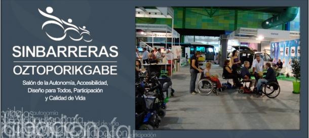 Salón Sin Barreras 2012 apuesta por la comunicación para todos - 14/09/12, Iradier Arena