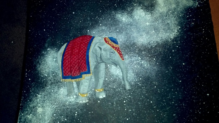 Elephant in Space!