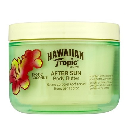 Hawaiian Tropic aftersun coconut body butter - this is twice as good as any high-end luxury body butter. My skin is silky soft all year round and it smells gorgeous.